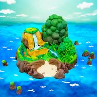 ねんどの無人島 脱出サバイバルゲームで暇つぶし!