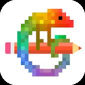 Pixel Art - 数字で塗り絵スケッチブック